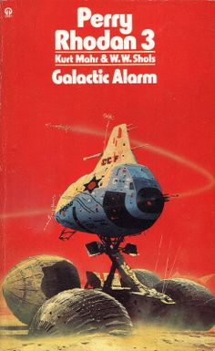 Galactic Alarm by Kurt Mahr and W. W. Shols. Orbit 1974. Cover artist Chris Foss