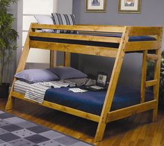 Chicago Twin over Full Bunk Bed Furniture Store