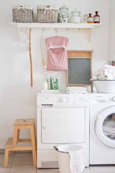 Living: Laundry Room