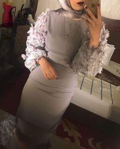 Pin by Mayada on Hijab soirée dresses Hijab Prom Dress, Hijab Evening Dress, Hijab Style Dress, Hijab Wedding Dresses, Evening Dresses, Hijab Mode, Mode Abaya, Dinner Party Outfits, Hijab Fashionista