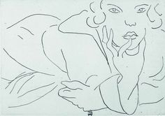Drawing of Model   _   Henri Matisse