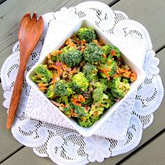 Vegan Broccoli Salad - Virtually Vegan Mama