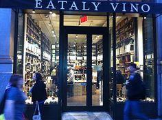 my favorite wine shop, Eataly Vino #essenzadiriviera.com www.varaldocosmetica.it/en