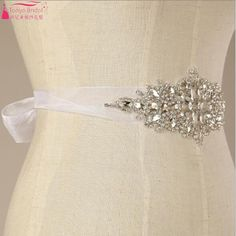 Find More Bridal Blets Information about Hand beaded diamond sparkling Wedding…