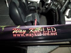 Way Kul-LED logo by A & M Graphics