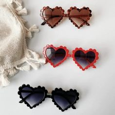 Heart Sunnies for girls, Heart Sunglasses for Babies Baby Sunglasses, Flower Sunglasses, Sun With Sunglasses, Heart Shaped Sunglasses, Kids Girls, Baby Kids, Cute Frames, Barbie, Nursery Inspiration