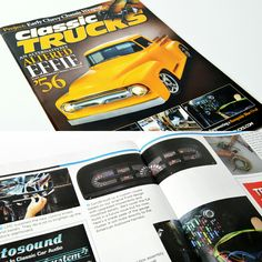 Be sure to grab the January 2017 issue of Classic Trucks Magazine and flip straight to page 86-87 where you will see a FullCustom instrumentation cluster built for installation in a '67 Ford F-100.  The article focuses on re-wiring the truck, but a sneak preview at our custom gauge set is all we can focus on when we flip the pages.