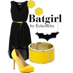 Inspired by Batgirl from DC comics. Batman And Batgirl, Barbara Gordon, Marvel Dc, Dc Comics, Glamour, Cosplay, Clothes For Women, Female, Womens Fashion