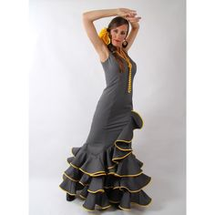 Women's flamenco costume