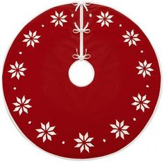 Martha Stewart Living™ Nordic Snowflake Tree Skirt HDC