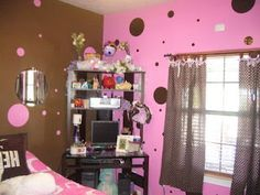 Brown And Pink In The Same Bedroom | Brown And Pink Bedroom Walls |  Pratamax.