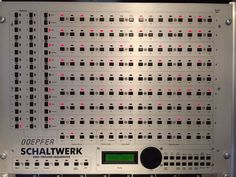 MATRIXSYNTH: Doepfer Schaltwerk Analogue Sequencer SN 961014