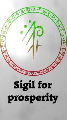 Sigil for prosperity