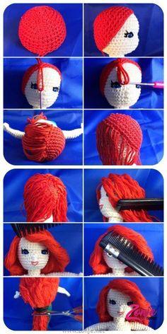 Mesmerizing Crochet an Amigurumi Rabbit Ideas. Lovely Crochet an Amigurumi Rabbit Ideas. Amigurumi Tutorial, Crochet Amigurumi, Crochet Doll Pattern, Amigurumi Doll, Diy Crochet, Crochet Crafts, Crochet Dolls, Crochet Projects, Crochet Patterns