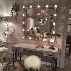Steampunk Glam vanity. Coming March 2015. For information please email instagram@unlimitedfurnituregroup.com