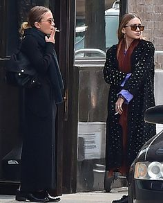 Olsens Anonymous Blog Mary Kate And Ashley Olsen Smoke Break In New York City Fall Layers Scarf Coat Skirt Loafer Cigarette Close Up Candid Cut Out Coat photo Olsens-Anonymous-Blog-Mary-Kate-And-Ashley-Olsen-Smoke-Break-In-New-York-City-Fall-Layers-Scarf-Coat-Skirt-Loafer-Cigarette-Close-Up.jpg