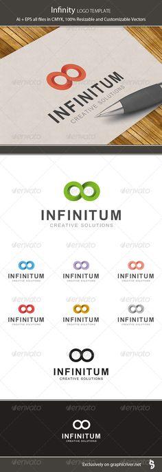 Infinity -   Logo Design Template Vector #logotype Download it here: http://graphicriver.net/item/infinity-logo-template/7170686?s_rank=4?ref=nexion