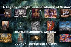 'A Legacy of Light' - Generations of Vision' 27 September, Hr Giger, Art News, New Art