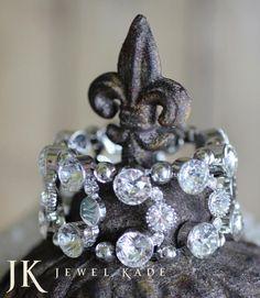 Jewel Kade - Duchess Bracelett $35.25  Gorgeous!! Order yours today! audreycollar.jewelkade.com