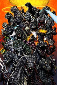 60 Years of Mayhem - colors by KaijuSamurai (Matt Frank)