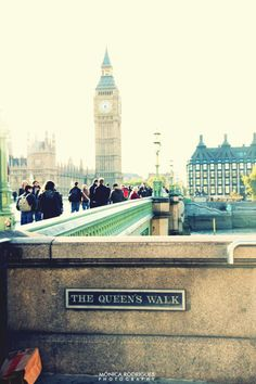 The Queen's Walk - London....where I left a part of my heart