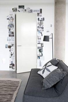 Оформление стены фотографиями: яркие мгновенья жизни в интерьере - HappyModern
