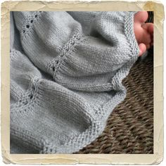 Finally a baby blanket pattern that I actually like. Love the color too. NobleKnits Yarn Shop  - Heirloom Stitches Baby Babar Baby Blanket Knitting Pattern, $6.95 (http://www.nobleknits.com/heirloom-stitches-baby-babar-baby-blanket-knitting-pattern/)