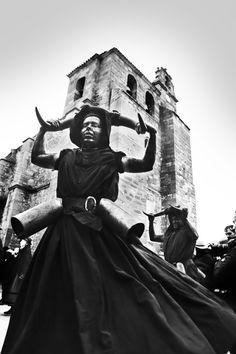 Diablos de #Luzón (Guadalajara), Spain. Carnaval.  @luisphoto ©Luis Alvarez