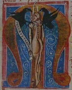 Mater Verborum - iniciála M s oběšeným Jidášem.jpg (500×626)