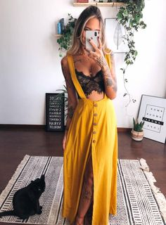 Boho Outfits, Skirt Outfits, Fall Outfits, Summer Outfits, Casual Outfits, Fashion Outfits, Fashion Trends, Look Hippie Chic, Look Chic