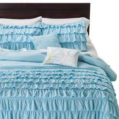 Marley Ruffle Comforter Set TARGET: $70.00