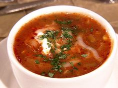 Classic Tortilla Soup/Marcells/Food Network/I couldn't find the right pic but this is the closest I could find./Video also. Use the url on here and not the pic... http://www.foodnetwork.com/recipes/marcela-valladolid/classic-tortilla-soup-recipe/index.html