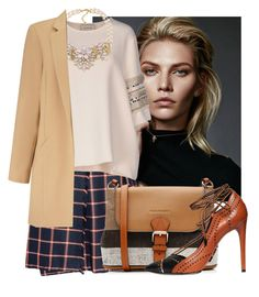 """""""Untitled #929"""" by kthrin on Polyvore featuring By Malene Birger, Burberry, Carolee, Daniele Michetti, Miss Selfridge, women's clothing, women, female, woman and misses"""