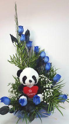 FLORERIAS EN VIÑA DEL MAR, FLORERIAS EN VALPARAISO, FLORES VIÑA DEL MAR, FLORES, VINA DEL MAR, VALPARAISO, ARREGLOS FLORALES Valentines Flowers, Valentine Day Wreaths, Valentines Diy, Flower Packaging, Rose Arrangements, Candy Bouquet, Cute Bears, Flower Decorations, Bouquets
