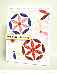 JJ Bolton {Handmade Cards}: Beautiful Birthday card made with the Silhouette