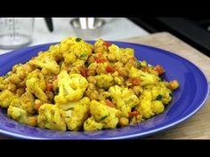 Vegetarian Cauliflower With Chickpeas Curry Recipe. CaribbeanPot.com