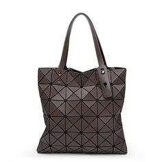 9749779fde8c Fashion Diamond Women Bao Bags Geometry Matte Handbag Female Geometric  Casual Tote Lady Shoulder Bag Top-Handle Bag With Logo