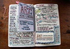 AONC Journal Spread by Paper Relics (Hope W. Karney), via Flickr