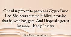 Hedy Lamarr Quotes About Hope - 36213