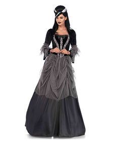 Check out Women's Gothic/Renaissance Velvet & Satin Victorian Ball Gown Costume - Renaissance Adult Costumes from Wholesale Halloween Costumes Wholesale Halloween Costumes, Sexy Halloween Costumes, Halloween Fashion, Adult Costumes, Costumes For Women, Pirate Costumes, Victorian Vampire Costume, Victorian Halloween, Halloween Mode