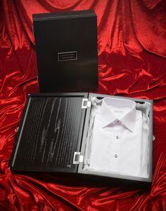 Bespoke shirt with Diamond button