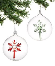 Love this Frost Snowflake Ornament - Set of Two on #zulily! #zulilyfinds