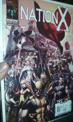 Marvel Nation X Set