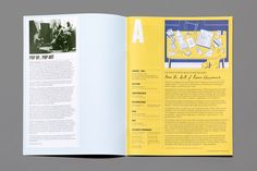 Editorial Design for the Royal College of Art's Alumni magazine