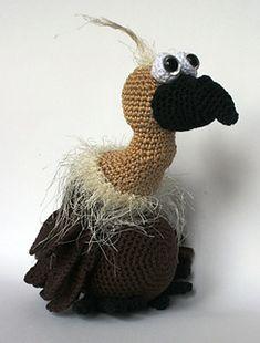 vulture Gerrit pattern by Christel Krukkert