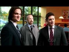 Supernatural Funny Scenes Season 7....When Dean sings along to Air Supply......DYING.