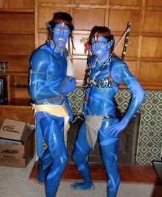 Awesome avatar costume