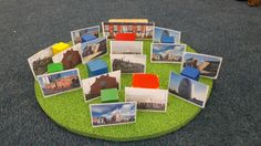 Local area bricks for small world  #eyfs #smallworld #peopleandcommunities #talk…