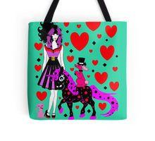 Tote Bag     #UNICORN #HEARTS #POODLES #KITTEN #CAT #DOG #ROCKABILLY #CHRISTMAS