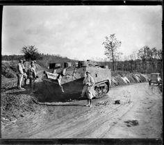 25 de octubre de 1917. Tanque, por Pierre-Antoine Givord.